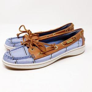 Coach Richelle Silk Boat Shoes